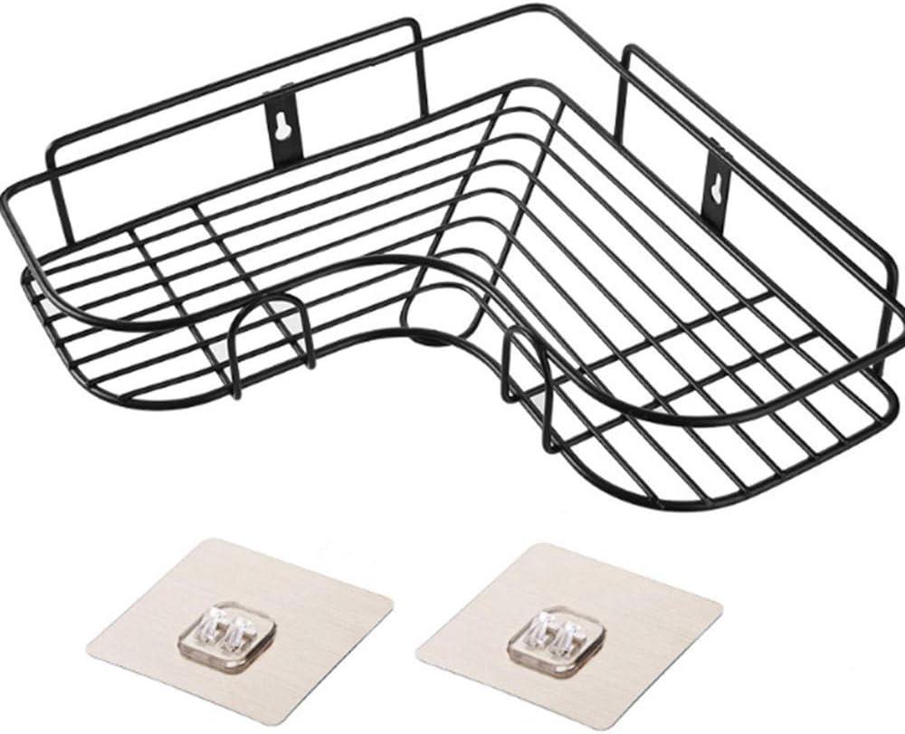 estanter/ía de boxeo Estante para ba/ños estante de almacenamiento de cocina soporte de pared perforado d/_A botellero /ángulo de aspiraci/ón zyh1229