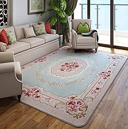 KOOCO Moderno Stile pastorale di tappeti per soggiorno casa calda ...