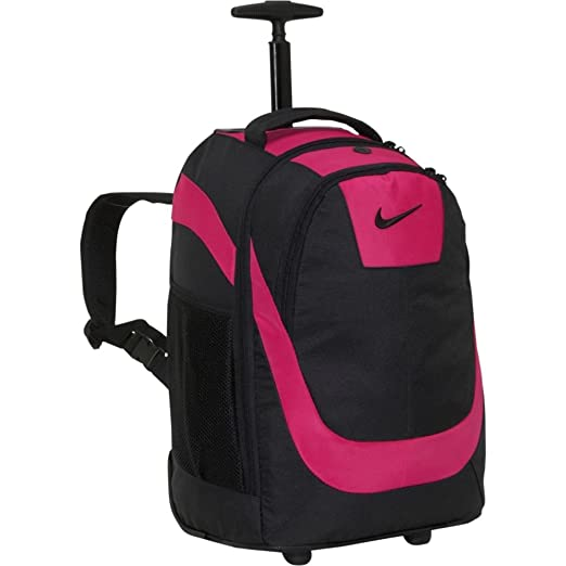 Amazon.com  Nike Accessories Rolling Laptop Backpack (Voltage Cherry ... 40aa3b8ee3b86
