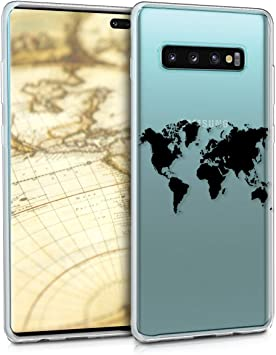 kwmobile Funda Compatible con Samsung Galaxy S10 Plus: Amazon.es ...