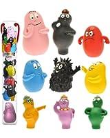 Plastoy - 70380 - Figurine Bande Dessinée - Tubo Barbapapa Expressions - 9 Pièces