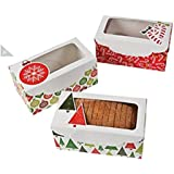 "Holiday Dessert Loaf Boxes 8.5"" x 4.5"", 12 Count"
