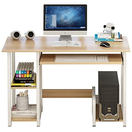 mesa plegable ZHIRONG Escritorio de la computadora con Bandeja de ...