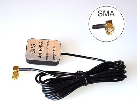 Coche Auto Activo GPS Antena SMA Antena Aéreo Conector Cable ...