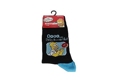 socksPur - Medias de fútbol - para hombre Grundfarbe Schwarz: Donuts 39/45: Amazon.es: Ropa y accesorios