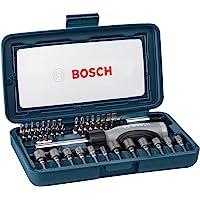 Kit de Pontas e Soquetes para parafusar Bosch com 46 peças