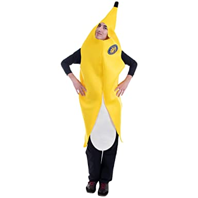 Amazoncom Big Cabana Banana Halloween Costume Adult One Size