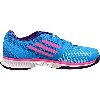 adidas adiZero Counterblast 7 - Zapatillas de balonmano para mujer blau / pink / lila Talla:38.2/3 EU: Amazon.es: Deportes y aire libre