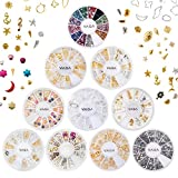 Studs, Beads and Crystals Nail Art Decorations Set