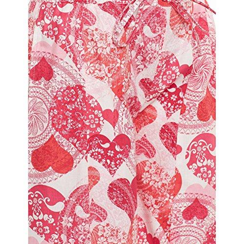 Le Pantaloni Stampa Cotone Per Rosa Con Palazzo Donne Indiane wSFZZnTq7O