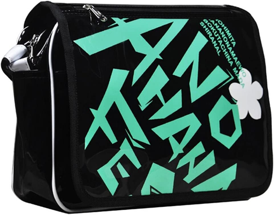 Siawasey Anohana Anime Menma Cartoon Messenger Bag Shoulder Bag