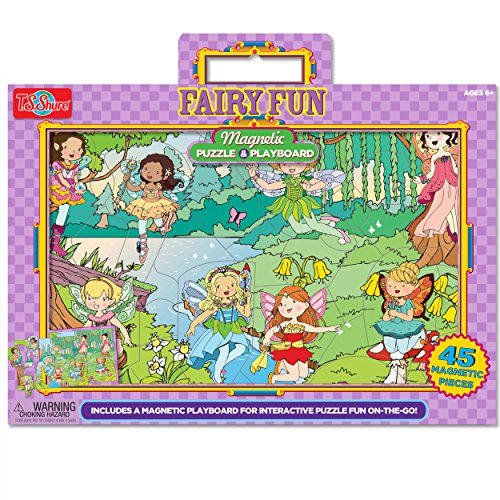 T.S. Shure Fairy Fun Magnetic Playboard & Puzzle (45 - Magnetic Fairies Playboard