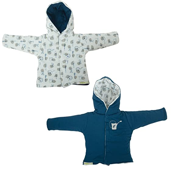 d637acc041f81 BAYBEE Baby Reversible Sweater Jacket - Baby Jacket Winter Jackets for  Toddler Girls Boys