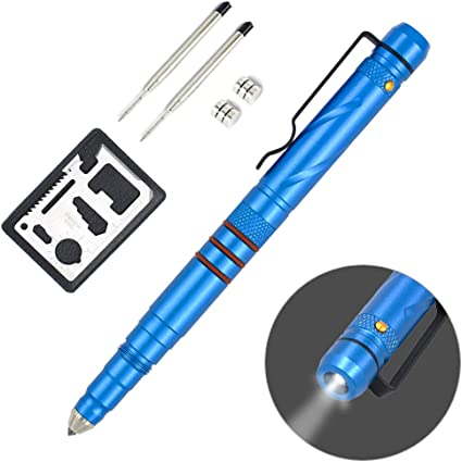 Multi-function Tactical Pen Bolt Switch Outdoor Emergency Self Defense EDC Tool