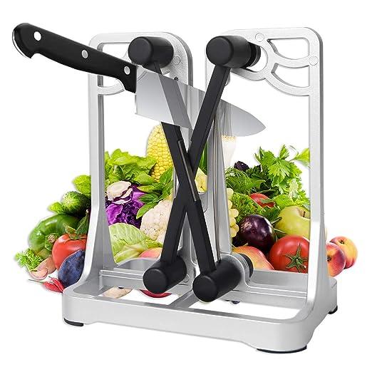 Compra PUPOUSE - Afilador Manual de Cuchillos para Cocina ...