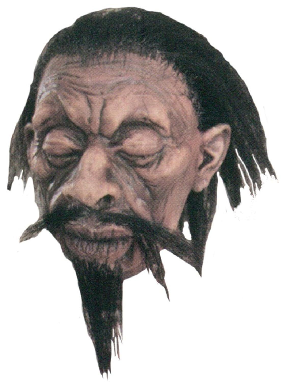Large Shrunken Head A1