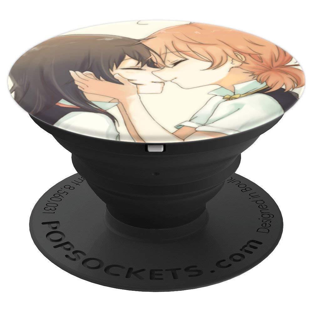 Amazon Com Yuri Anime Happy Blooming Love Girls Couple Smile Kiss