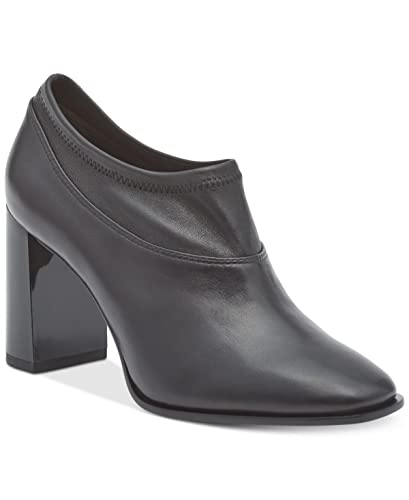 b4c833af34d3 Image Unavailable. Image not available for. Color  DKNY Womens Sade Leather Block  Heel ...