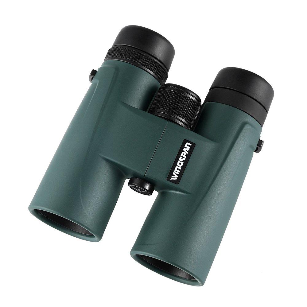 Wingspan Optics バードウォッチング用プロ向け双眼鏡 NaturePro HD 8X42鮮やかな色と、遠近共に鮮明に明るく見える体験をして下さい。広い視野。クローズフォーカス。防水、曇り防止。 B01JGRSM2A