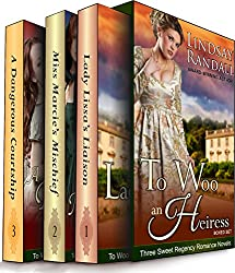 To Woo an Heiress Boxed Set: (Three Sweet Regency Romances in One)