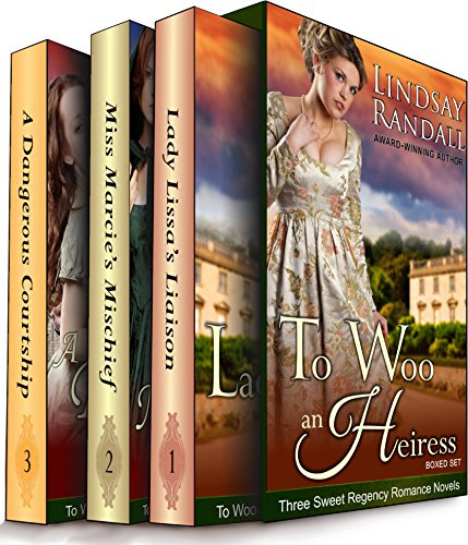 To Woo an Heiress Boxed Set: (Three Sweet Regency Romances in One) cover