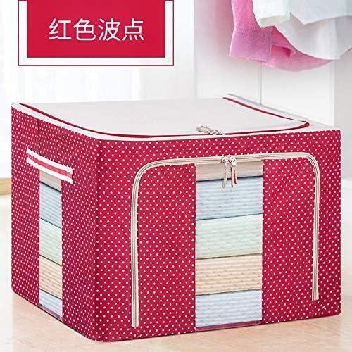 T-CFZH Caja de almacenamiento extra grande plegable de algodón 150 ...