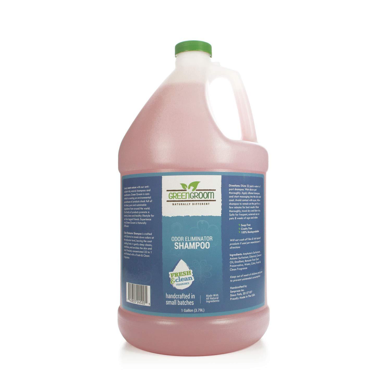 Green Groom Odor Eliminator Shampoo, 1 Gallon