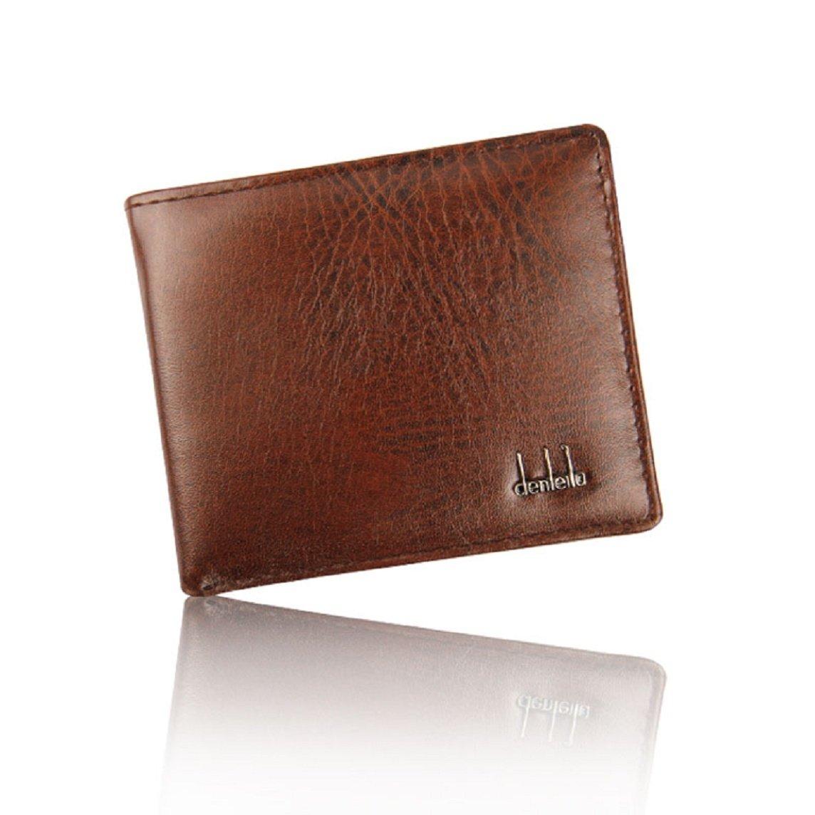 Wallet; Men Wallet-Bessky® Hot Sale Men Business Wallet Purse Card Cash Receipt Holder Organizer Zipper Wallet Bifold Purse (Black)