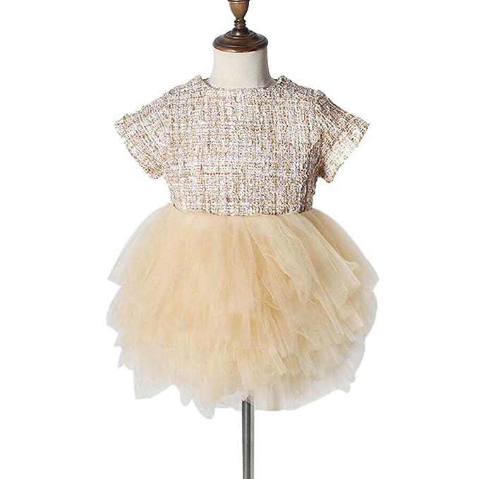 Xmiral Vestido Tutu para Actuaciones Baile para Bebes Niñas Regalo ...