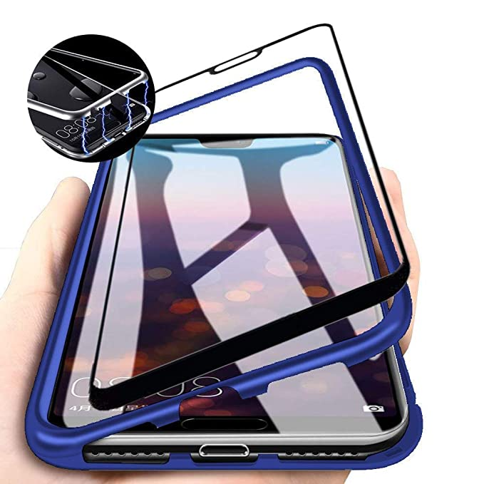 sports shoes 45d26 a2e61 Amazon.com: Magnetic Case for Samsung Galaxy A7/A750(2018),Clear ...