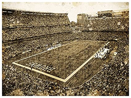 Amazon.com : Cleveland Browns Art Sketch Style Poster Print 12x16 ...