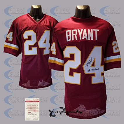 f5b48a94f Washington Redskins Kelvin Bryant Autographed Signed Custom Style ...