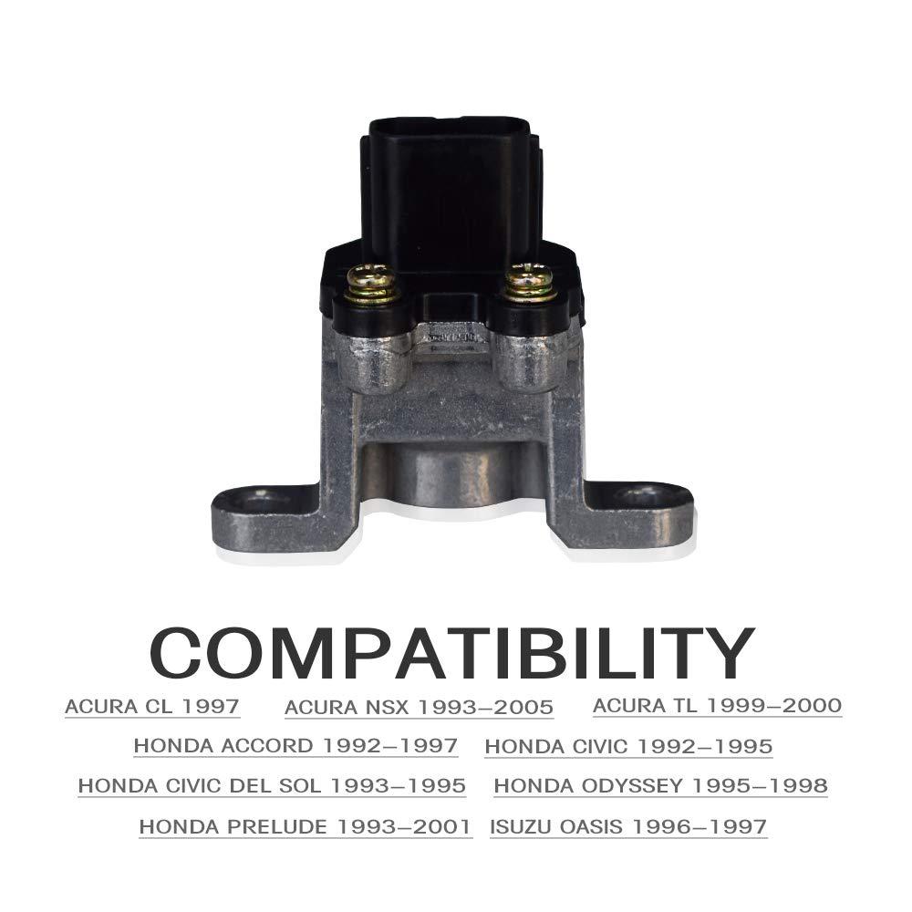 TURBOSII Vehicle Speed Sensor 78410SR3003 78410-SV4-003 VSS Speed Odometer Sensor For 97 Acura CL 93-05 NSX 99-00 TL 96 97 Isuzu Oasis 92-97 Honda Accord 92-95 Civic 93-95 Civic del Sol 95-98 Odyssey
