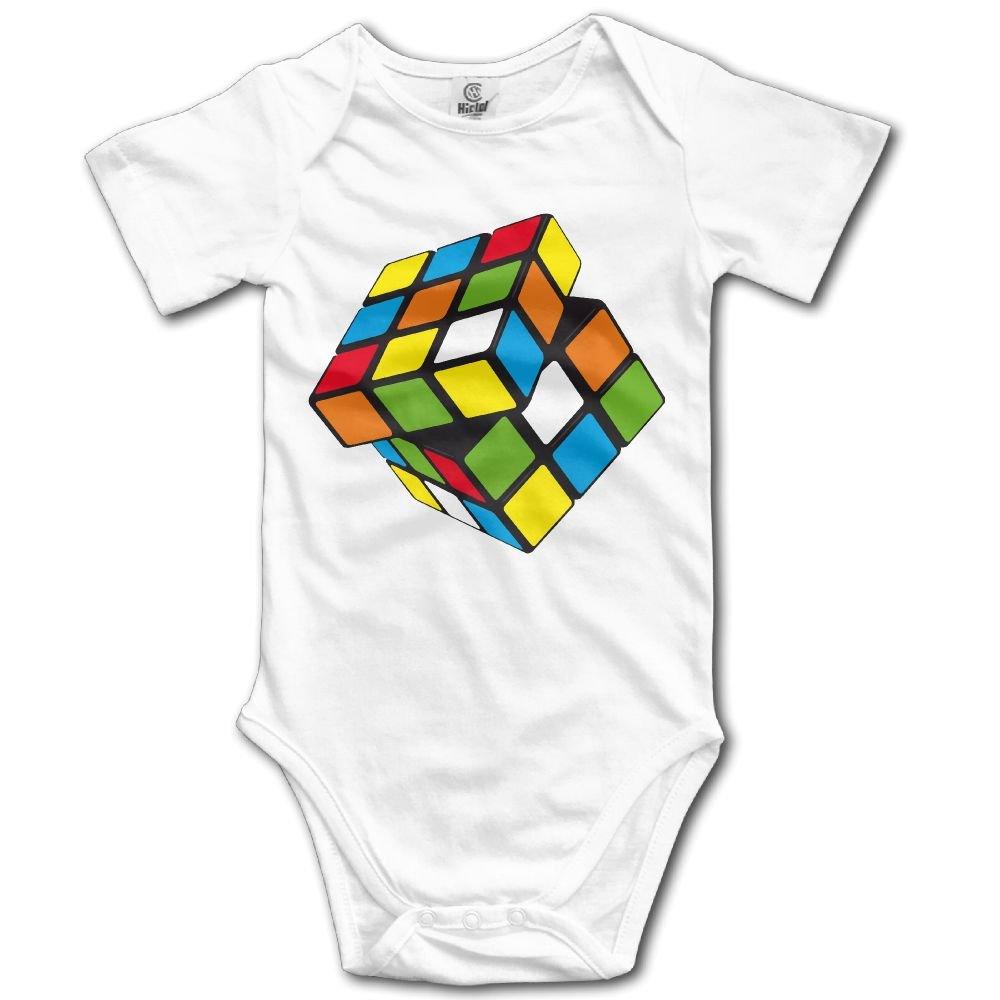 Edepon Baby Rubiks Cube Cotton Infant Onesie Baby Onesie