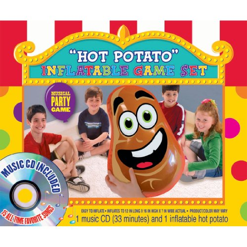 Carnival Fair Fun Inflatable Hot Potato Game Party Activity, Plastic , 12