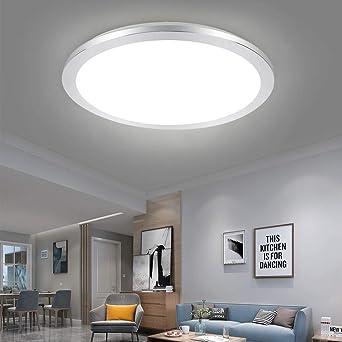 LED Decken Lampe Leuchte Chrom Bade Zimmer Feuchtraum Beleuchtung Diele IP44