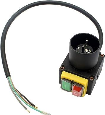 Schalter passend Scheppach HL730 230V Holzspalter Elektromotor 230V