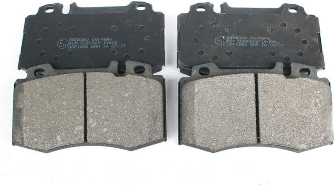 Jeu de plaquettes de frein frein /à disque pour essieu avant C-KLASSE W203 S203 CL203 M S SL Classe BB08060