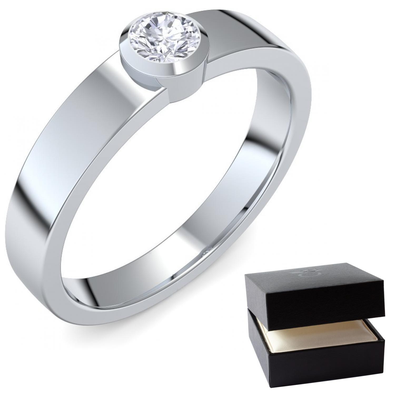 Heiratsantrag Ring Antragsring Verlobung Silber Ring Zirkonia 925