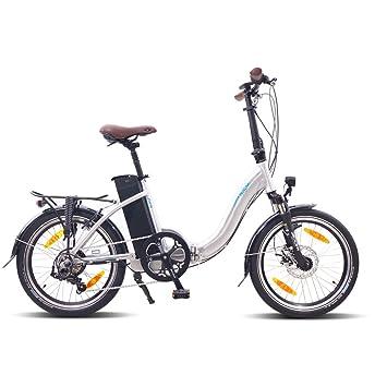 NCM PARIS 50,8 cm bicicleta eléctrica plegable bicicleta eléctrica 36 V 250 W –