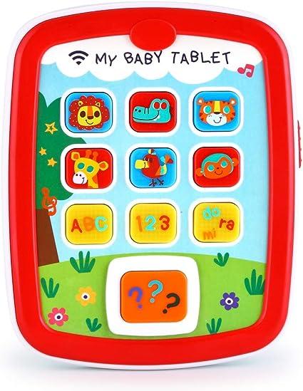 Juguete Educativo Para Bebé Juguete Para Tableta De Bebé Juguete Para Bebés De 19 7 Ft A 39 4 Ft A 59 1 Ft Con Música Y Luz Juegos De Aprendizaje Fácil Abc