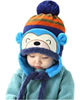 Knit Beanie Cap for Baby, Misaky Winter Warm Kids Girl Boy Ear Thick Hat