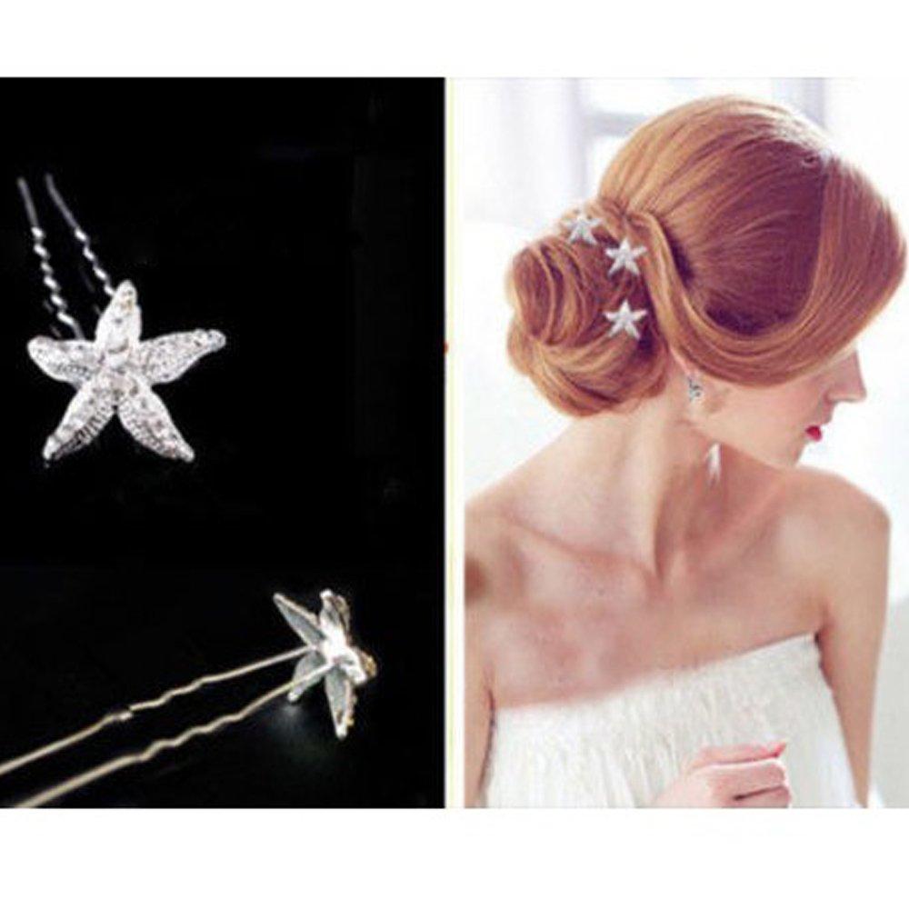 5//10Pcs Fashion U Shaped Hair Pins Wave Hair Pins Hair Styling Tools Jewelry