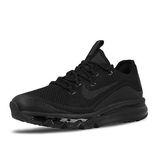 Nike Herren Air Max More Schwarz TextilSynthetik Sneaker 44