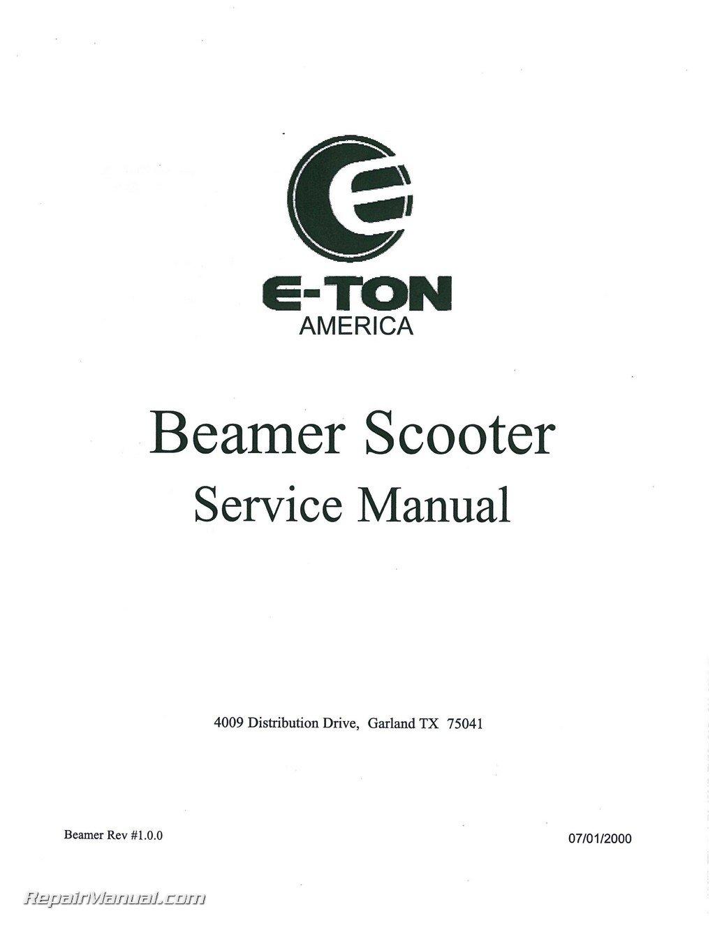 Service manual eton yukon pdf download online full   turbo service.