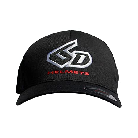 Amazon.com  6D Helmets Logo Flexfit Hat (Large X-Large) (Black)  Automotive f62516207f2