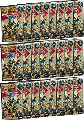 Star Wars Party Favors - Rebels - 24 Mini Play Packs