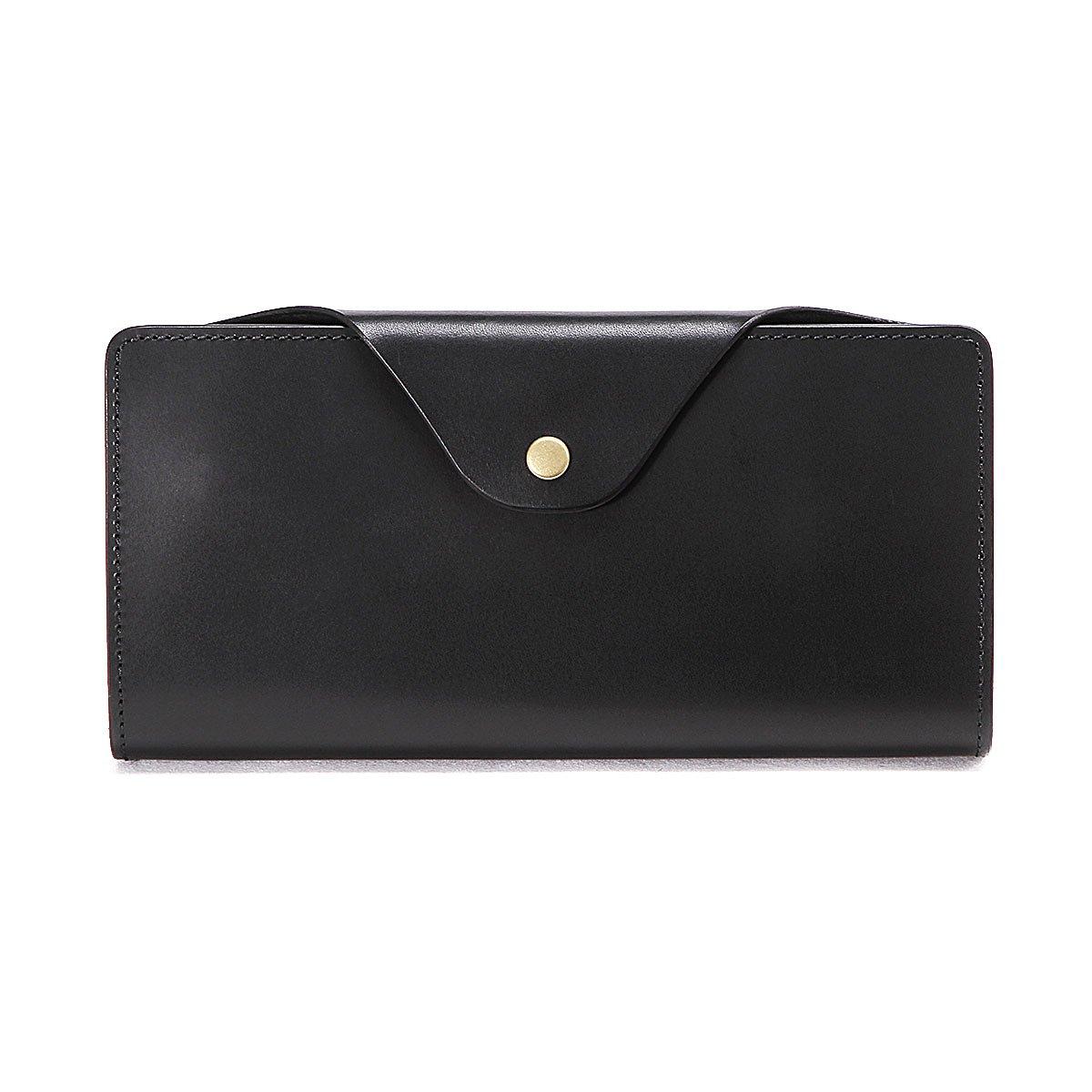 スロウ 長財布 long wallet herbie SO657G B07FYGKF2Y  ブラック
