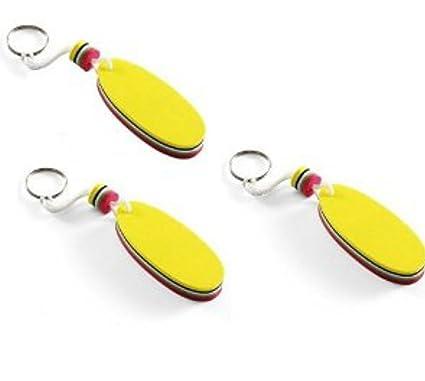 3 x Flotador de espuma con llaveros: Amazon.es: Hogar