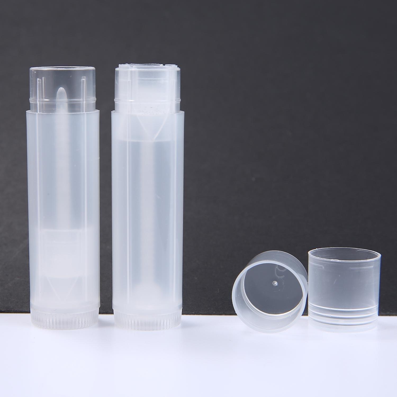 Amazoncom Renext 50 Pcs Transparent Clear Empty Lip Balm Tubes